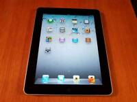Apple iPad Tablet 1st Generation (WiFi, 16 GB) Black/Sliver in Good Condition