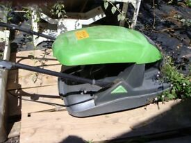 A very good condition lawnmower has been kept for hardly use.