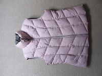 M&S Ladies Pink Gilet. Size 12 and fully reversible!