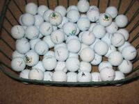 Titleist Pro V1X golf balls, used, but in excellent condition.