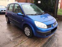 Renault Scenic 1.6 VVT Expression 5 door - 2004, 12 Months MOT, Decent Runner, PX TO CLEAR! £595