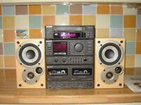 SONY Mini Hi-Fi with Denon Speakers