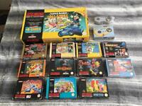 Super Nintendo boxed