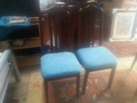 2 nice chairs