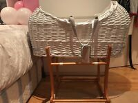 Baby crib with stand