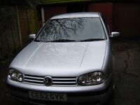 VW Golf 1.4 52 reg 5door 11 months MOT HPI clear 81000 miles met silver good history and invoices