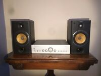 B&W Bowers and Wilkins 601 S3 speakers black