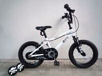 "(2161) 14"" PIRATE Boys Girls Bike Bicycle+ STABILISERS Age: 3-5, 93-108 cm"