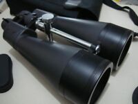 High Powered Praktica zoom binoculars 25 - 125 x 80 , for sport/travel etc.