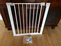 Baby stair gate safety guard stairgate vgc from a pet and smoke free homr