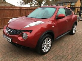 Nissan Juke Tekna, 6M Platinum warranty & breakdown cover with no excess included, Stunning example