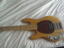 left handed OLP music man bass. Rare bass!