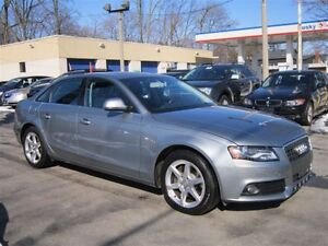 2009 Audi A4 2.0T QUATTRO 93KMS SUNROOF AWD !!! AUTO