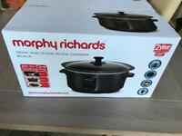 Brand New: Morphy Richards Sear & Stew Slowcooker/Crockpot