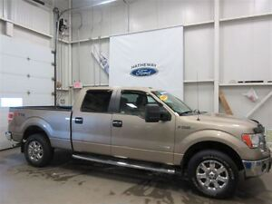 2013 Ford F-150 XLT+ 4 WINTER TIRES