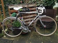 Vintage retro carrera bh boland 12 speed road racer,58cm frame,700c wheels with new tyres £25