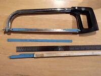 Hacksaw and blades