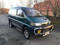 M REG MITSUBISHI DELICA 2.8-SHORT MOT-DRIVES WELL-GOOD ENGINE-4X4-EVERYTHING WORKS-CHEAP CAR