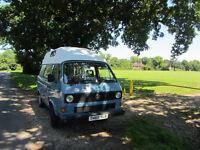 T25 Hi-roof 1986 VW Diesel 1.6 12 months MOT £4,000 84,500 miles