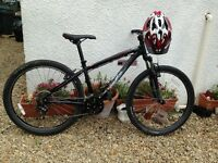 "2012 Specialized Hardrock SE, size small , 26"" wheels very good condition + gyro youth helmet"