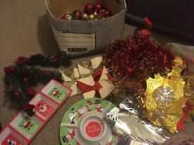 Bundle Christmas decorations