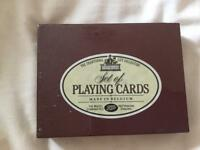 New! Set of playing cards