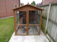 Cat Kennel Cat House with Run