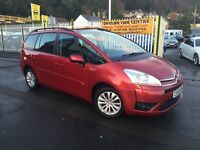 CITROEN GRAND C4 PICASSO 1.6 HDi 16v VTR+ EGS 5dr Auto (red) 2008