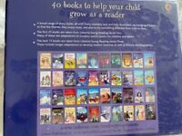 Usborne reading collection new and sealed. 40 books