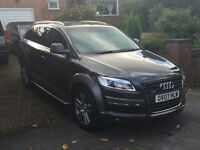 Audi Q7 Limited Edition 3.0 Quattro 75000 Miles 7 Seater Fully Loaded Side Steps BMW Range Mercedes