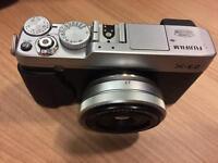 Fujifilm X-E2 with XF27 Fujinon lens