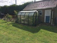 Greenhouse free for collection. Will need to be dismantled