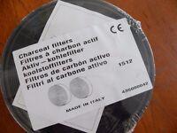 Charcoal filter (pair) for Rangemasteer cooker hood
