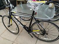 Carbon framed racing bike