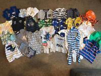 Big bundle boys 3-6 month clothes