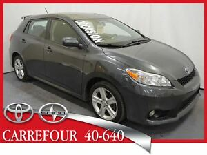 2011 Toyota Matrix 1.8L S Mags+Fogs+Jupes+Toit Ouvrant