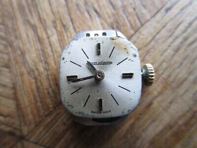 Vintage Ladies JAEGER LECOULTRE Backwind Manual Movement Cal. 840. For Parts.