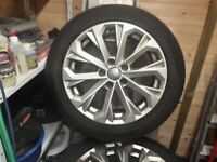 "Audi A4 17"" alloy wheels"