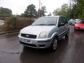 Ford Fusion 1.4 2 5dr EXCEPTIONAL LOW MILEAGE
