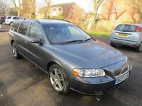 2007 VOLVO V70 2.4 SE SPORT SPECIAL EDT AUTO ESTATE FSH 1 OWNER FROM NEW TWO KEYS LEATHER PX SWAPS
