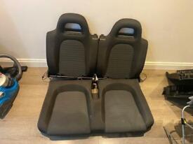 Scirocco rear seats