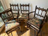 Ercol Vintage dining chairs