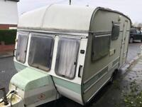 3 berth swift rapide. Ideal for allotment or yard. 3 sofasand dry . I can deliver