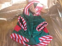 Dog costume elf christmas new collect aberbargoed