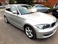 BMW 1 series 118D Deisel Sport HPI clear £30 Road tax