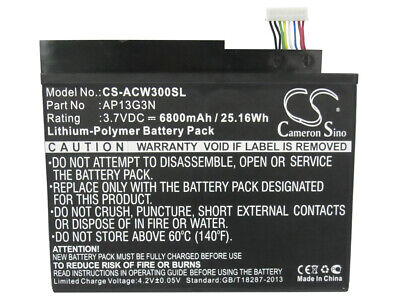 AP13G3N  Battery for Acer Iconia Tab W3   Iconia Tab W3-810   ZEIV4          NEW