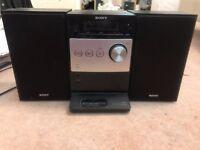 Sony CMT-FX300I Micro HiFi System (No remote)