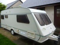 FLEETWOOD CARAVAN, 5 BERTH, NEW AWNING, EXCELLENT CONDITION