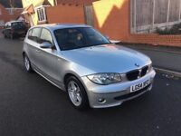 BMW 1 SERIES AUTOMATIC.FULL SERVICE HISTORY.6 MONTHS MOT.CALL ME 07404220949