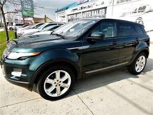 2015 Land Rover Range Rover Evoque Pure Plus Navigation Panorami